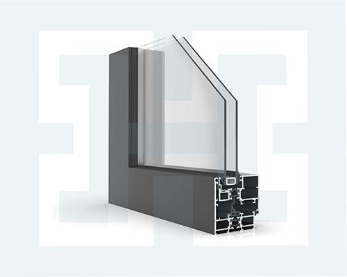 درب و پنجره ترمال بریک لولایی HVTW60