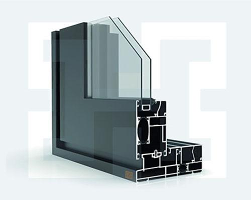 درب و پنجره ترمال بریک کشویی H-L&S-TM128